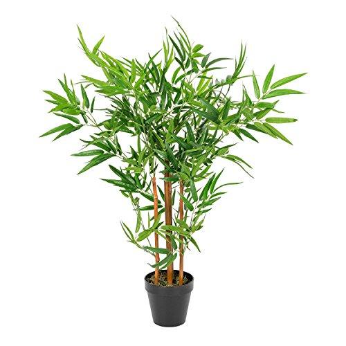 Homescapes künstlicher Bamboo Baum getopft