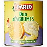 PAREO Duo d'Agrumes (Oranges - Pamplemousses) 1,650 kg - Lot de 2