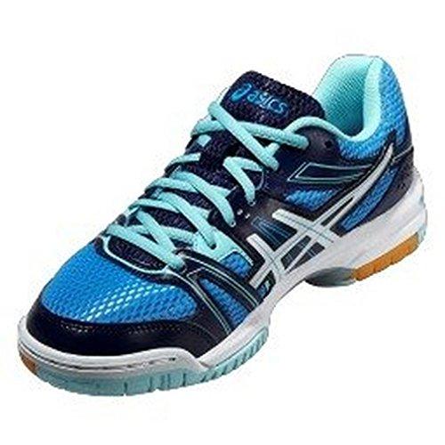 Asics Gel-rocket 7, Chaussures de Volleyball Femme Blue