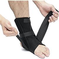 BaBaSM Praktisch Knöchel-Klammer-Unterstützungs-Stabilisator, Sport-Fußball-Breathable Knöchel-Klammer-Beschützer-Justierbare Knöchel-Stützauflage-elastische Klammer-Abdeckung