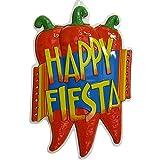 PARTY DISCOUNT NEU Wand-Dekoration, Happy Fiesta Chilis, ca. 50cm