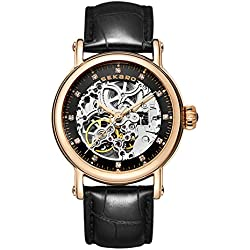 Automatic mechanical watches/Strap waterproof women's table/Fashion dial-I