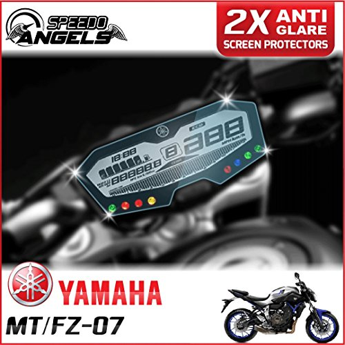 Preisvergleich Produktbild Speedo-Angels YAMAHA MT-07 / FZ-07/ 700 Tracer Armaturenbrett / Instrument Cluster Displayschutzfolie - Anti-Glare