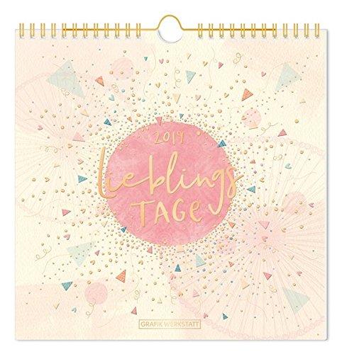 Wandkalender 2019 Lieblingstage