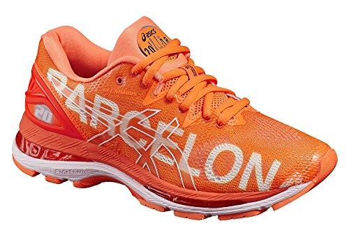 Asics Gel-Nimbus 20 Barcelona Marathon, Chaussures de Running Femme Orange (Rose Shocking Orange/Rose Shocking Orange/White 3030)