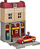 Herpa 800075 City: Feuerwehr-Gebäude mit Einsatzleitfahrzeug