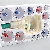 Tinksky kangzhu 12Tassen, biomagnetisch Vakuum Chinesische Körper Schröpfen Home Cure Therapie Set preisvergleich bei billige-tabletten.eu