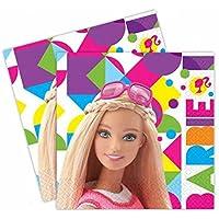 Amscan Barbie Sparkle Servietten, 33 cm (999887)