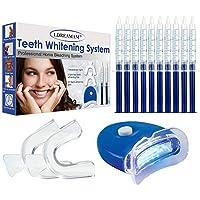 Kit de Blanqueamiento Dental,Gel Blanqueador de Dientes,Teeth Whitening Kit Profesional Blanqueamiento Dientes,Contra Dientes Amarillos,Manchas de Humo,Dientes Negros