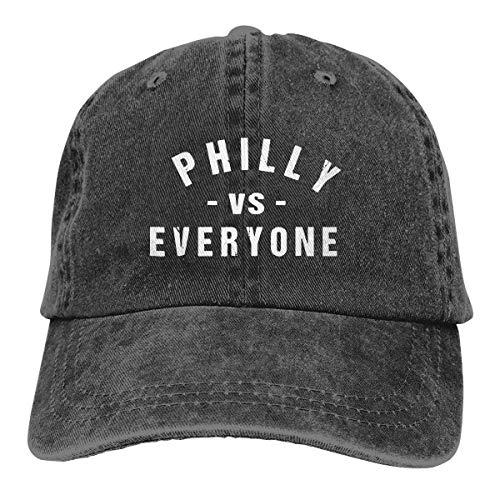 AOHOT Herren Damen Baseball Caps,Hüte, Mützen, Classic Baseball Cap, Philly Vs Everyone Unisex Baseball Cap Cowboy Hat Dad Hats Trucker Hat (J Ll Halloween Cool)