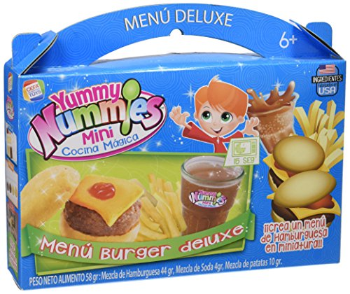 Yummy Nummies - Menu Deluxe, juego de comiditas en miniatura  (Cefatoys 21771)