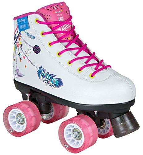 DISNEY SOY LUNA FIESTA ROLLSCHUH Rollerskates Kinder weiß rosa pink (36)