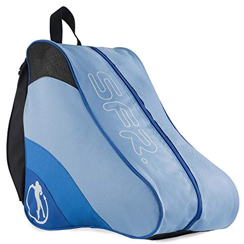 Sfr Skates Unisex-Erwachsene SFR Ice & Skate Bag II Stofftasche, Blau (Blue), 24x15x45 centimeters