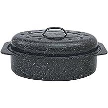 Graniteware 6106 - Asadora para horno de acero al carbono (33 x 20 cm)