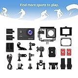 Victure Action Cam 4K Wifi 170° Weitwinkel Wasserdicht 40M Unterwasserkamera 20MP Ultra Full HD - 7