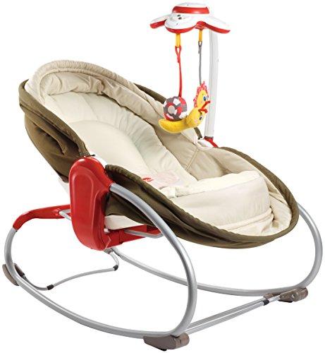 Preisvergleich Produktbild Tiny Love 3-in-1 Rocker-Napper gemütliche Babywippe, Baby-Schaukel und Babybett in einem, inklusive Vibration und Mobile, braun
