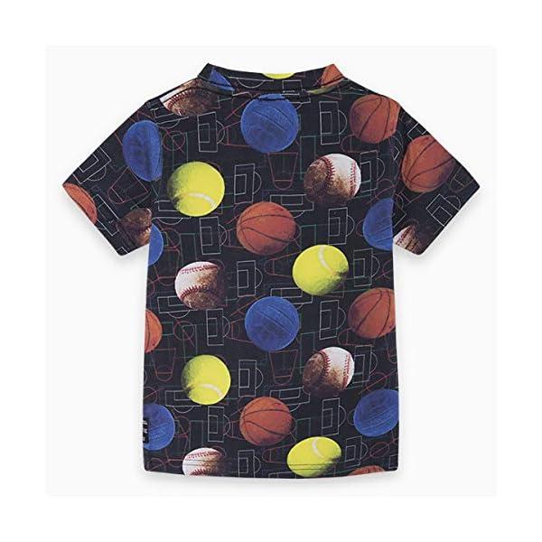 Tuc Tuc Camiseta Punto Pelotas NIÑO Negra Japan Training 2