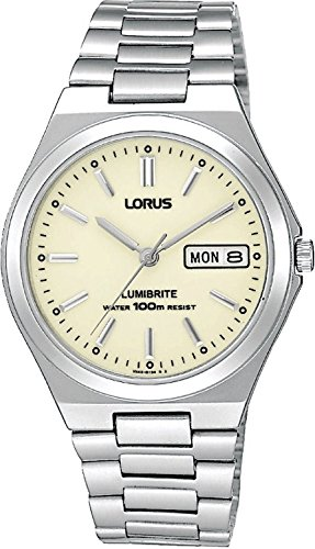 Lorus RXN31BX9 Men's Analogue Stainless Steel Strap Watch