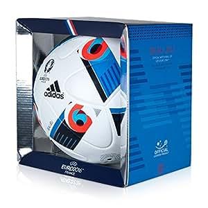 Fussball – Ball – Gr. 5 – UEFA Euro 2016 – Europameisterschaft – France – Frankreich – adidas – Beau Jeu – nahtlose Oberfläche ist FIFA-zertifiziert