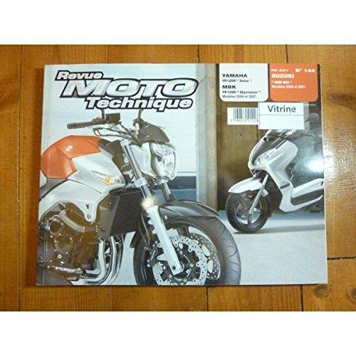 REVUE MOTO TECHNIQUE SUZUKI GSR 600 de 2006 et 2007 YAMAHA YP125R XMAX de 2006 et 2007 MBK YP125R SKYCRUISER de 2006 et 2007 RRMT0144.1 -Réédition