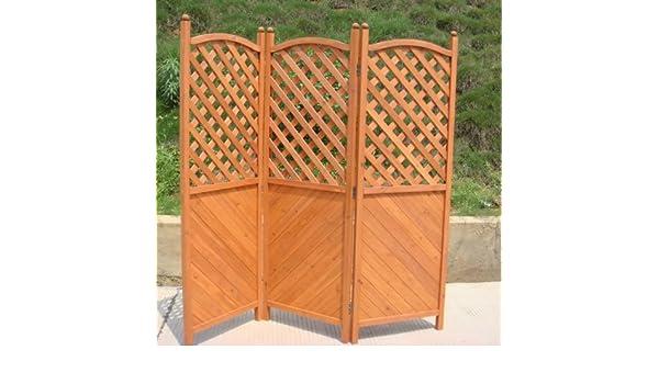 Outdoor Küche Vidaxl : Outdoor garden patio hinged panel wooden wood latticed privacy