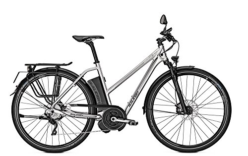 E-Bike Raleigh Stoker Impulse S10 350 Watt/17 AH Trapez 28' 10-G bs 45 km/h, Rahmenhöhen:50;Farben:Chromosilver