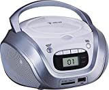 Best Boom Box Cds - LEMA TB208W Boom Box CD USB Blanc/Chrome Review