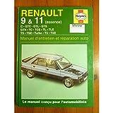 Rth - Haynes - R9 R11 81-91 Revue Technique Haynes Renault Etat - Bon Etat Occasion