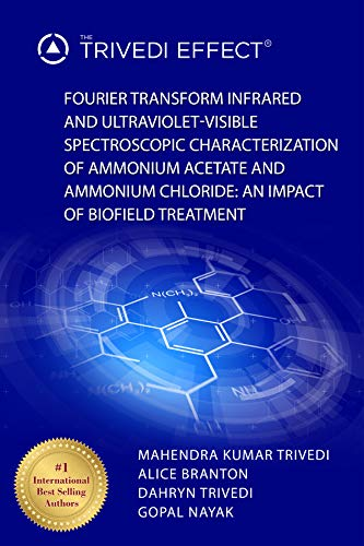 Fourier Transform Infrared and Ultraviolet-Visible Spectroscopic Characterization of Ammonium Acetate and Ammonium Chloride: An Impact of Biofield Treatment (English Edition)