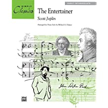 The Entertainer: Early Intermediate Piano Solo