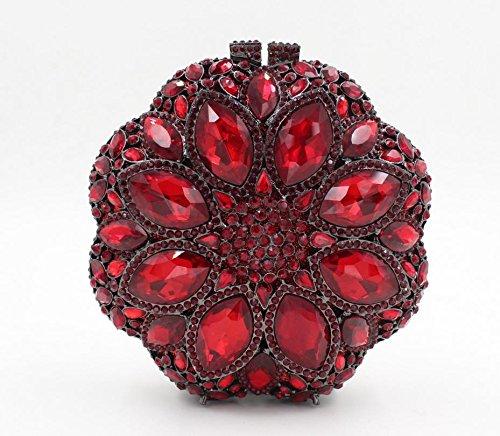 Abendmode Paket europäischen und amerikanischen Stil Kristall voller Diamantbohrgerät Farbe des Beutels 4 color 2