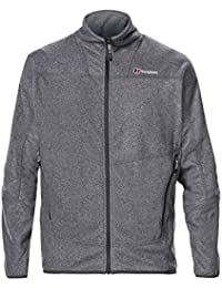 Berghaus Waterproof Spectrum Micro 2.0 Men's Outdoor Fleece Jacket available in Black/Black