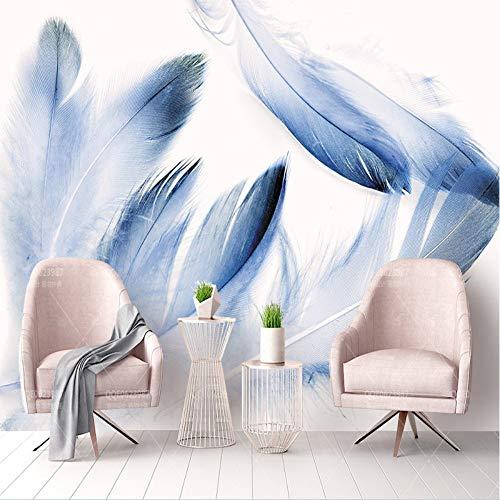 YUANLINGWEI Wandbild Tapete Anpassen 3D Foto Wandbild Tapete Natur Banane Blätter Landschaft Abstrakte Leinwand Wohnkultur Für Wohnzimmer Tv Sofa Hintergrund,270Cm (H) X 350Cm (W)