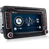 'A de Sure 7pulgadas 2din Bluetooth FM Full 3d Map 3G DAB + Radio de coche OBD TMC Navi DVD GPS Radio RDS para Volkswagen Passat Golf 56Touran Tiguan Transporter Multivan T5Polo Jetta Caddy Skoda Seat Altea