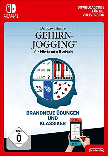 Dr. Kawashimas Gehirn-Jogging für Nintendo Switch Standard | Nintendo Switch - Download Code