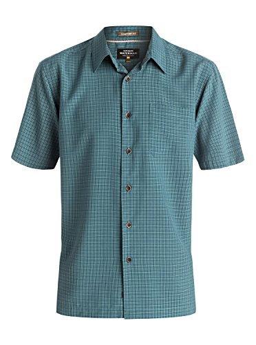 Quiksilver - - Herren Boje Woven Hemd Major Blue