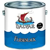 Halvar skandinavischer 2-K Fliesenlack glänzend weiß grau schwarz ALLE RAL - hochdeckender zwei Komponenten-Fliesenlack (5 kg, Weiß)