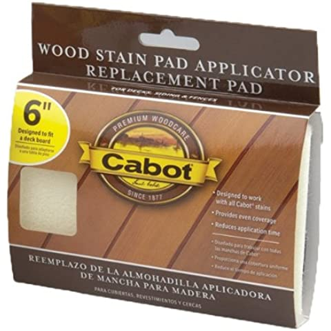 Cabot macchie 63Cabot 6-Inch Stain Pad applicatore (Applicatore Refill)