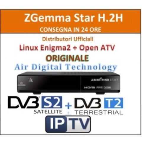 ZGEMMA H 2H Combo HD Receiver Dual Core Linux OS DVB-S2 + Hybrid DVB-T2