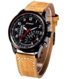 Curren New Fashion Branded Leather Strap...