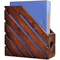 Estante para revistas estante para periódicos simple de madera estante para revistas estante para almacenamiento de datos dormitorio estudio estante para almacenamiento sala de estar estante para peri