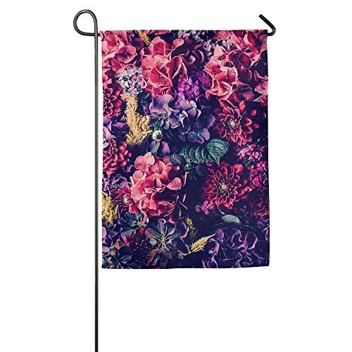 "HujuTM Fashion Custom Garden Flag Pinterest Flowers Garden Flag 18""x27"" Outdoor Decor"