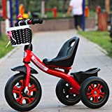 TUJHGF Children's Tricycle 1-3-2-6 Years Old Large Baby Hand Push Bike Bicycle Stroller