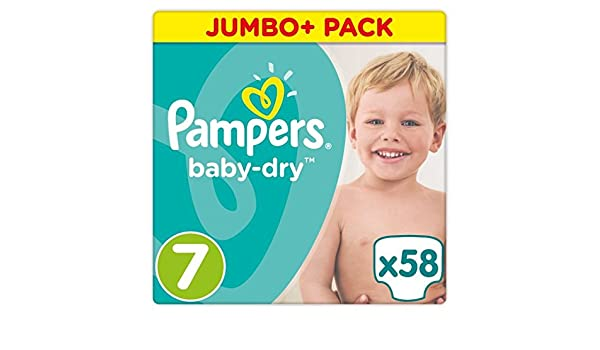 7 15+ kg 1 x 112 Stück Monatsbox Pampers Baby-Dry Windeln Gr 1er Pack