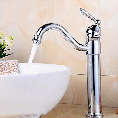 Wasserhahn Liefern (Alle Kupfer - Becken, Einheitlichen Handle, Einzigen Loch, Pan, Warmen Und Kalten Waschbecken, Wasserhahn,2 80Cm Schläuche Liefern.)