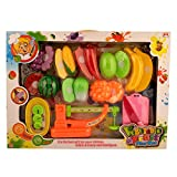Rvold Vegetable and Fruit Play Set with ...