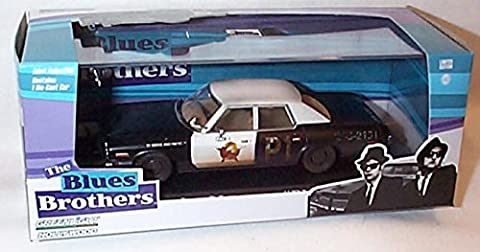 greenlight 2014 release the blues brothers dodge monaco bluesmobile 1974 car limited edition 1.43 scale diecast model by Greenlight