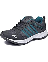 Rockfield Men's Mesh Grey Running Sports Shoes
