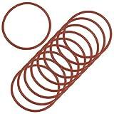 Lot de 10Rouge en caoutchouc 54MM X 2.5MM Joint d'huile O Rings Joints Rondelles