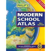 Philip's Modern School Atlas: 96th Edition (Paperback)